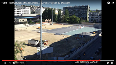 Restructuration Stade Le Gallo