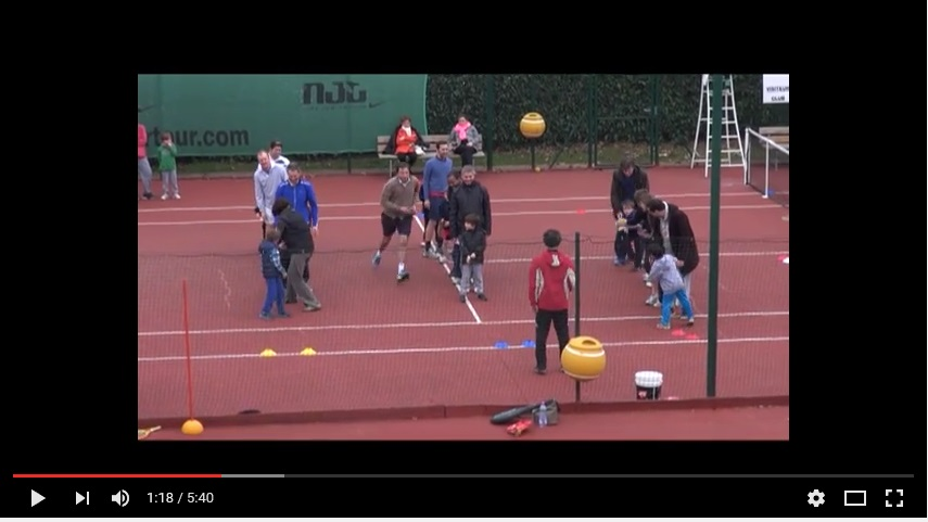 Animations mini tennis 2013